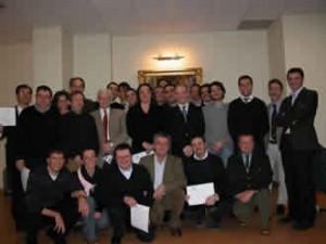 Consegna diplomi del II° Iter formativo in Colonproctologia 2008