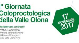 1 Giornata Coloproctologica della Valle Olona