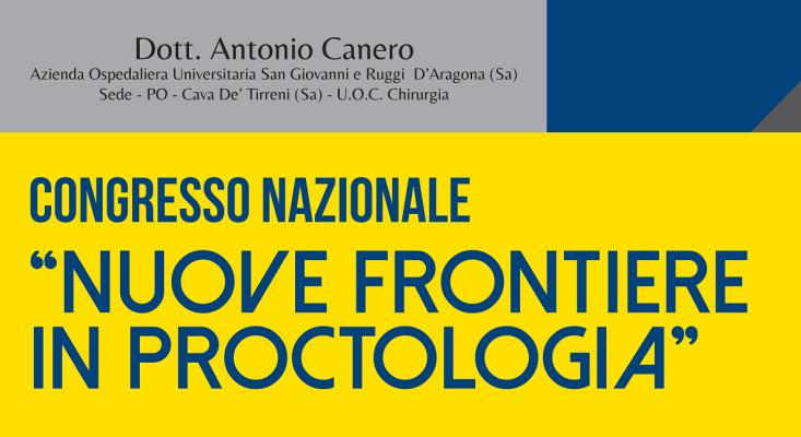 Congresso nazionale - Nuove frontiere in proctologia