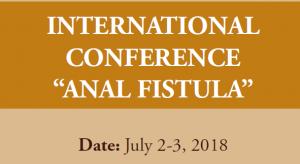 International Conference Anal Fistula
