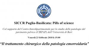 SICCR Puglia-Basilicata Pills of science