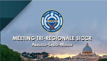 Meeting tri-regionale SICCR Abruzzo-Lazio-Molise 2019