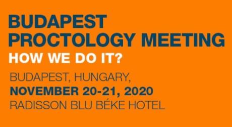 Budapest Proctology Meeting 2020