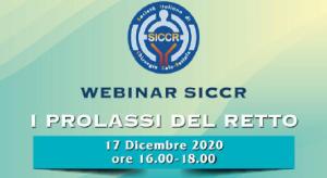 Webinar SICCR - Prolassi del retto