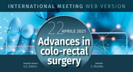Advances in color-rectal surgery