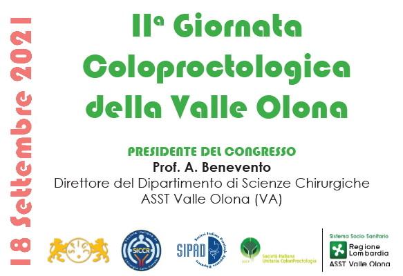 IIa Giornata Coloproctologica della Valle Olona